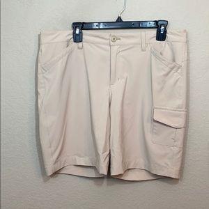 Eddie Bauer polyester spandex shorts 14